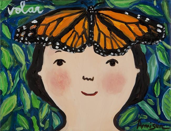 Eva Armisen Oil on Canvas