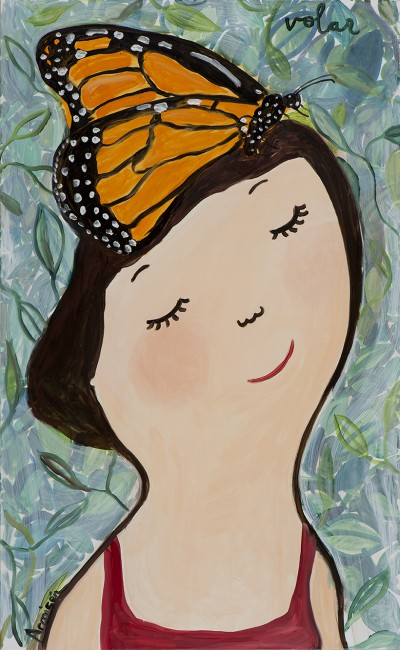 Eva Armisen mariposa vida