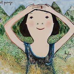Pintura exposición Home Corea
