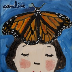 Mariposa monarca Eva Armisén