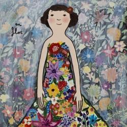 Eva Armisen flores en flor