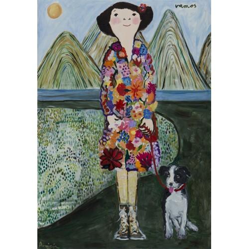 A Walk by artist Eva Armisén